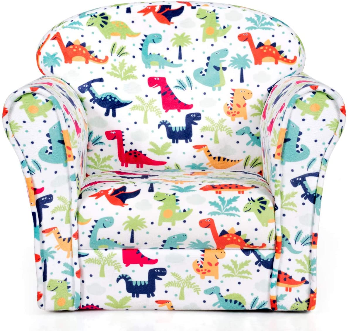 Costzon National uniform free shipping Kids Sofa Children Reservation Armrest Chair Pattern with Toddler
