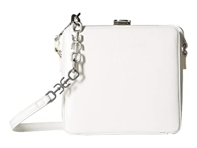 Sam Edelman Alice Cube Shoulder Bag (White) Handbags