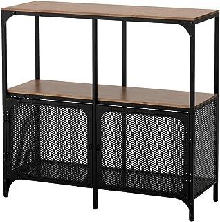 IKEA ASIA FJALLBO - Estantería, color negro