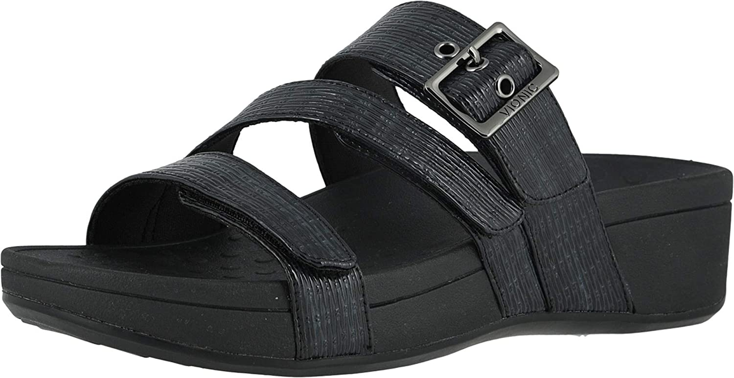 Vionic Women's Pacific Rio Platform Sandal Ladies Adjustable Discount 2021 spring and summer new is also underway - S