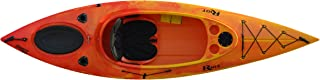 Riot Kayaks Quest 10 HV Flatwater Day Touring Kayak, Yellow/Red