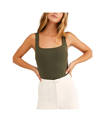 Free People Square Off Cami (Army) Women