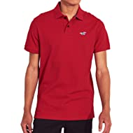 Hollister Men's Short Sleeved Classic Fit Polo Shirt
