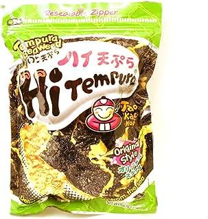 japanese seaweed tempura chips