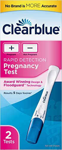 Clearblue Rapid Detection Pregnancy Test, 2 Count