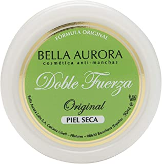 Bella Aurora Double Strength Anti-Blemish Cream 30 ml - Face Treatment - Natural Moisturising - Instant Beauty - Hydration & Revitalization - Spain