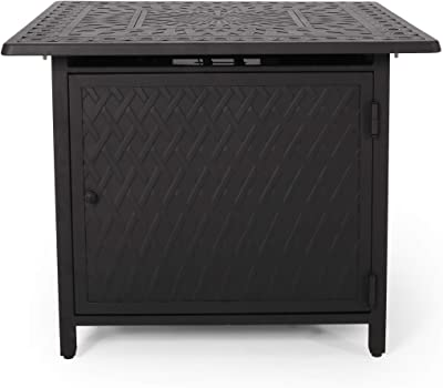 Christopher Knight Home 312960 FIRE Pit, Matte Black