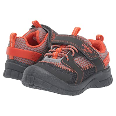OshKosh Lago3-B (Toddler/Little Kid) (Grey/Orange) Boy
