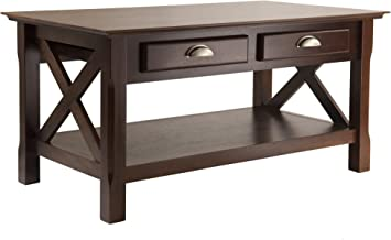 Winsome Wood 40538 Xola Occasional Table, Cappuccino Finish
