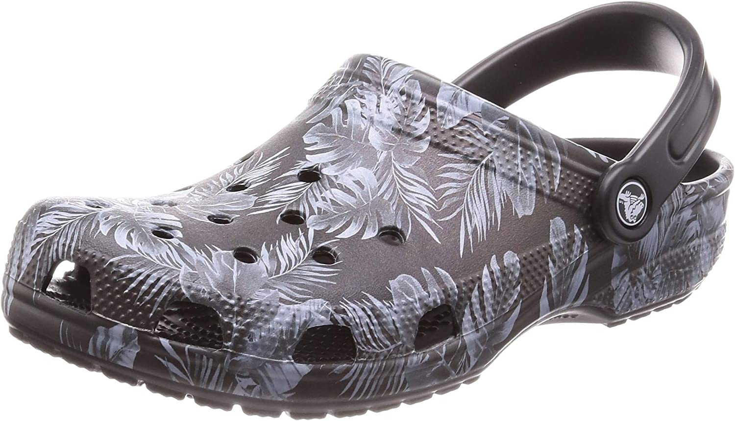 Crocs Men's and Women's Classic Graphic Clog   Comfort Slip On Casual Water shoes   Lightweight