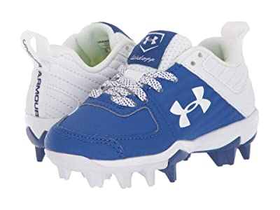 Under Armour Kids Leadoff Low RM Baseball (Toddler/Little Kid/Big Kid) (Royal/White) Kids Shoes
