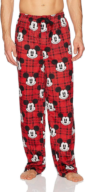 Disney Pijama a cuadros Mickey Buffalo para hombre - rojo ...