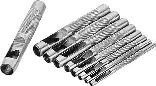 TOLSEN HW24-VCES Kit de 9 cinceles perforadores circulares sacabocados de herramientas