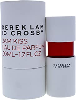 Derek Lam 10 Crosby | 2AM Kiss | Eau De Parfum | Amber and Woody Scent | Spray Perfume for Women | 1.7 Oz