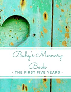 Baby's Memory Book: The First Five Years: (My Two Moms) 5-Year Baby Journal Record Book For Adoptive & Expectant Lesbian P...