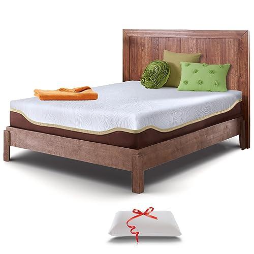 Live & Sleep Elite Mattress - Gel Memory Foam Mattresses - California King Size - 10