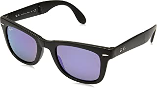 Ray-Ban Folding Wayfarer Square Sunglasses