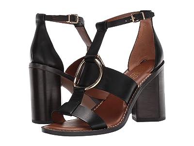 Franco Sarto Dandelion (Black Leather) Women