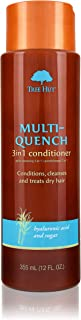 Multi-Quench 3-in-1 Conditioner, Tree Hut Hair & Scalp Treatment With Organic Shea Butter, for Normal To Dry & Color Treat...
