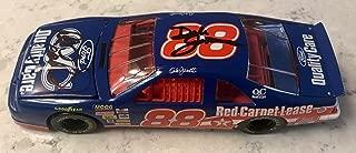 Dale Earnhardt Sr & Dale Jarrett Dual Signed 1996 Quality Care 1/24 Diecast Car - Autographed Diecast Cars