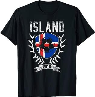 Island Football Cup 2018 T-Shirt - Iceland Soccer Jersey