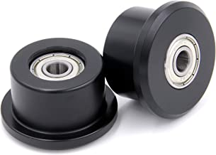 Extremely Strong, 15 Year Breakage Warranty, Made from Solid Engineering Plastic for Total Gym 1000, 1500, 1700, Max, Platinum, Platinum Plus, Pro, Supra and Many Others Set of 2