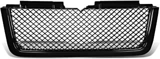 For Chevy Trailblazer LT ABS Plastic Glossy Diamond Mesh Style Front Bumper Grille (Black)
