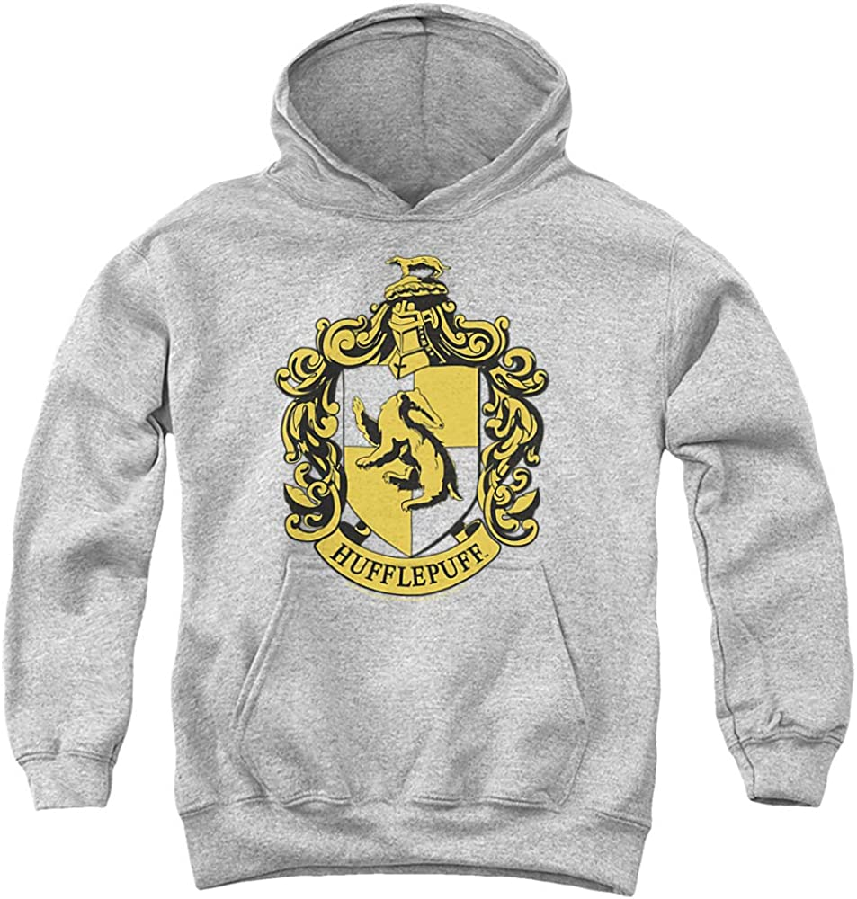 Harry Alternative dealer Potter Hufflepuff 2021 autumn and winter new Crest Youth Hoodie Unisex Pull-Over