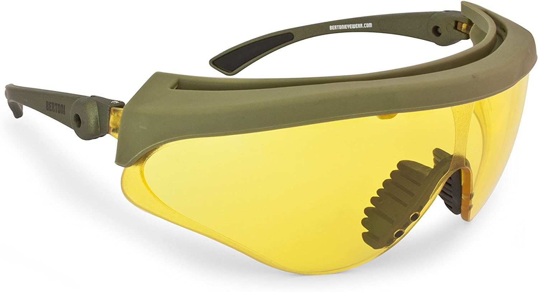 Max 54% OFF Bertoni Shooting Glasses Max 64% OFF Shatterproof Adjustable Len Antifog and