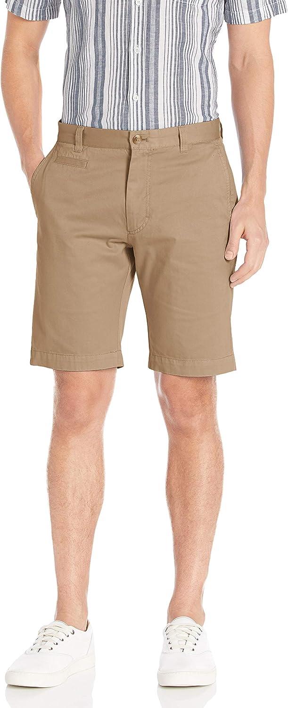 Louis Raphael New mail order KHAKI Men's Slim Fit Cotton Indianapolis Mall Garment Flat Front Dye