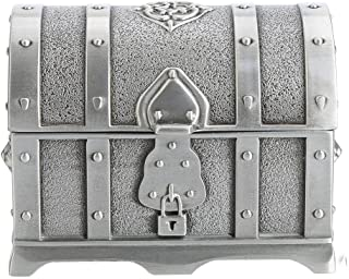 Caja antigua de almacenamiento de aleación de zinc Caja de