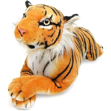VIAHART Tiger Tale Toys  とら トラ 虎 スマトラトラ タイガー ぬいぐるみ リアル  47㎝ ペット 大きい かわいい 【日本正規品】