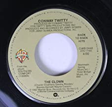 Conway Twitty 45 RPM The Clown / Slow Hand