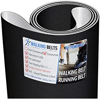WALKINGBELTS Walking Belts LLC - Iron Man Inspire Treadmill Walking Belt 2ply Premium + Free 1oz Lube
