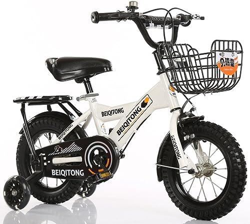 LiuJF-Fitness Equipment Bemanntes fürrad, Jungen und mädchen fürrad fürrad Kindheit Personal fürrad 2-11 Jahre alt Baby Hilfsrad fürrad 88-121CM