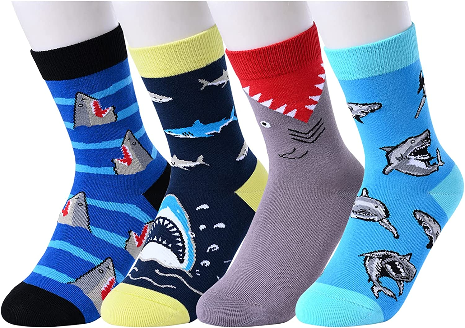 HAPPYPOP Gifts Fort Worth Mall for Teenage favorite Boys Years 4-10 Funny Socks Kids