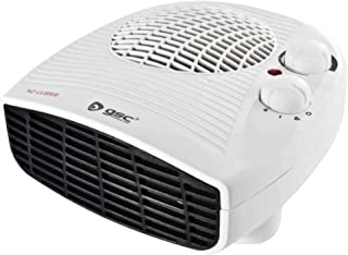 Evila GS2847 Calefactor horizontal 1000W/2000W