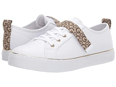 G by GUESS Gravie (White/Taupe) Women