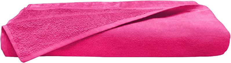 Large Bath Towel - Oversize Bath Sheet (Hotel, Spa, Bath) Super Soft and Absorbent (Hot Pink)