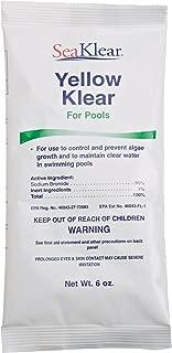 SeaKlear Yellow Klear Algae Control, 6 ounce Bag