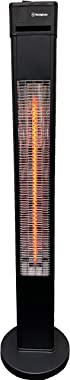 Westinghouse WES31-15110BLK Infrared Electric Outdoor Heater Freestanding, Black