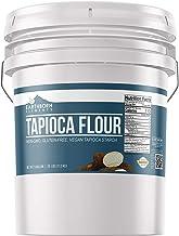 Tapioca Flour (5 Gallon (25 lb.)) by Earthborn Elements, Also Known As Tapioca Starch, Resealable Bucket, Fine White Powder, Gluten-Free, Non-GMO
