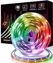 Felizamor LED Strip Light Smart Bluetooth RGB Decoration Lights 300 LED TV Backlighting APP Remote Contorl Sync to Music f...
