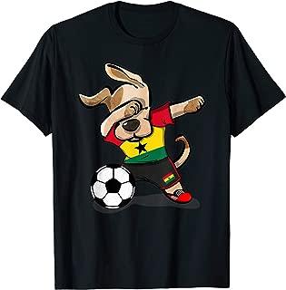 Dog Dabbing Ghana Soccer Jersey Shirt Ghanaian Football Gift