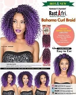 Rastafri Crochet Braid Bahama Curl (2 - Dark Brown)
