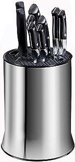 LiShens Grand bloc à couteaux universel, rangement peu encombrant – amovible pour un nettoyage facile et design fente uniq...