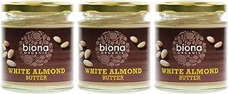 (3 PACK) - Biona - Organic White Almond Butter   170g   3 PACK BUNDLE
