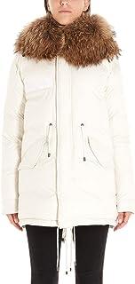 MR&MRS ITALY Luxury Fashion Womens XDJ0110100007 White Down Jacket | Fall Winter 19