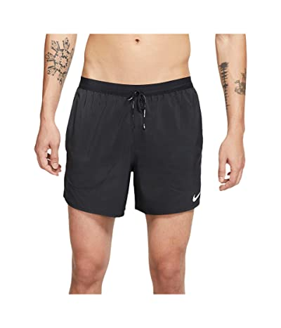 Nike Flex Stride Shorts 5 BF (Black/Reflective Silver) Men