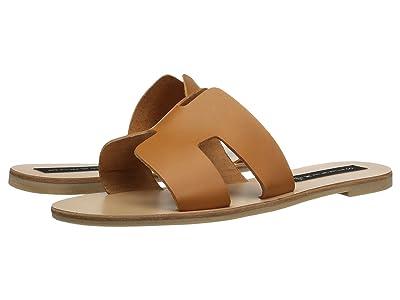 Steven Greece Sandal (Cognac Leather) Women